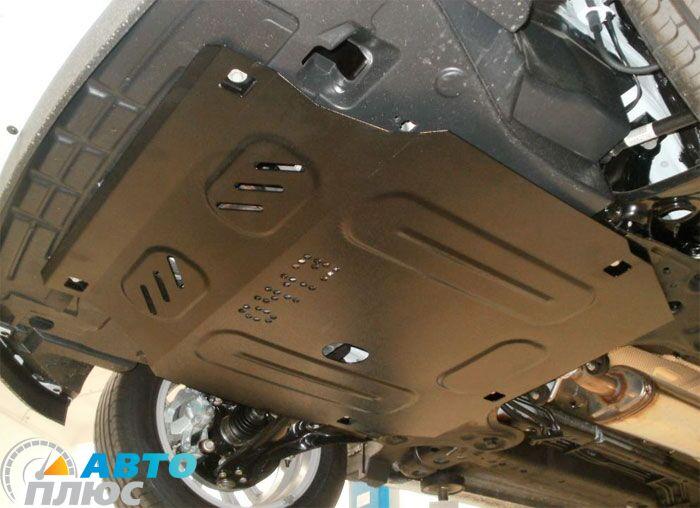 Металлическая защита двигателя Chevrolet